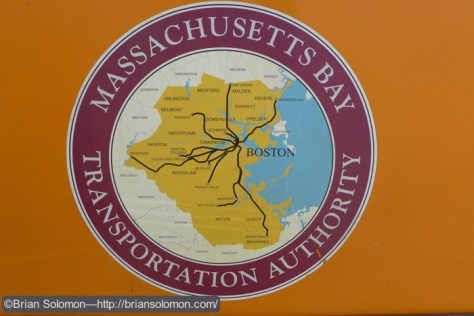 Lumix LX7 Photo of MBTA map.