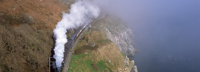 Steam, Sun, Mist and Film: RPSI 461 at Bray Head, Part 2.