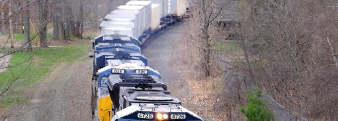 CSX Intermodal: The Chase.