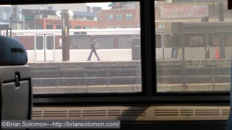 DC Metro at King Street, Alexandria, Virginia.