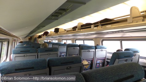 On board Amtrak 94.