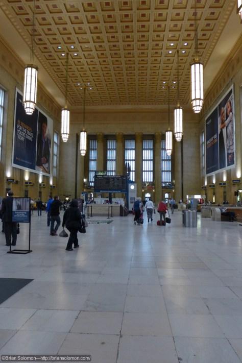 Classic terminal station. LX7 photo June 2, 2015.