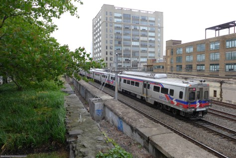 SEPTA Silverliner V Philadelphia on June 3, 2015. Lumix LX7 photo.
