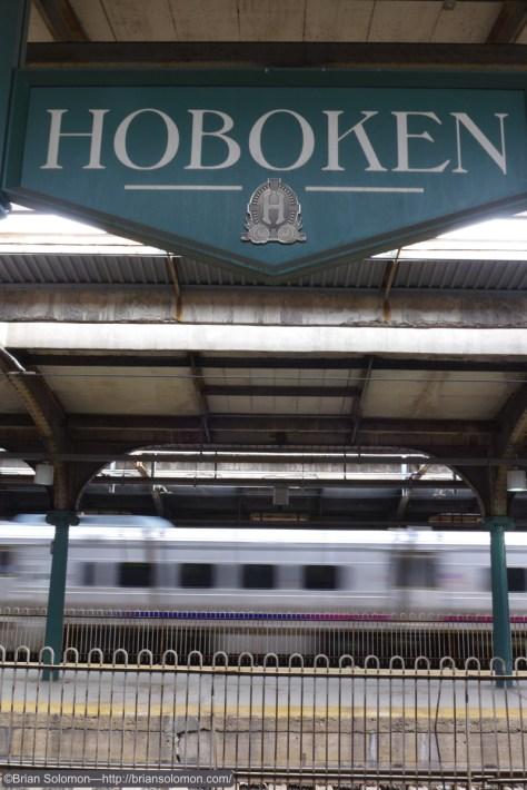 Hoboken, no Jokin'.