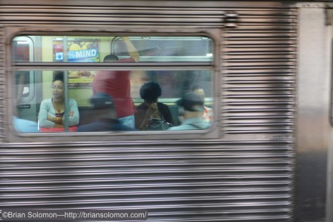 R32 pan in the subway.
