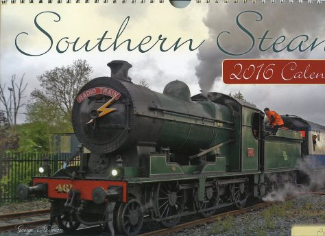 This is the cover of the new Southern Steam calendar featuring Irish stream locomotives working in Munster.