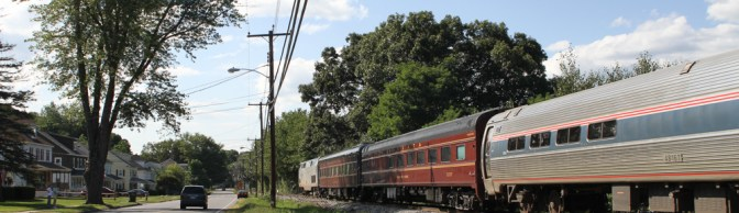 Pennsylvania Railroad at Three Rivers—Five Years Ago!