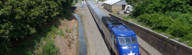 Amtrak's Piedmont with North Carolina Equipment from the Tracking the Light LX7 Archive.