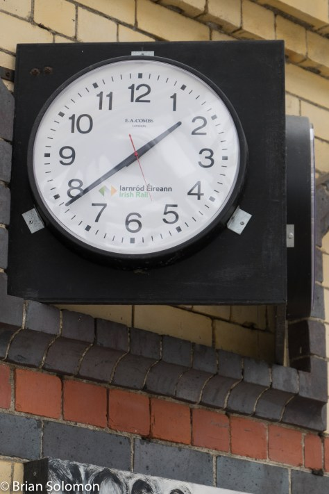 Clock at Dundalk.