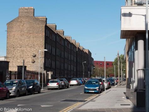 Dominic Street Upper looking north.