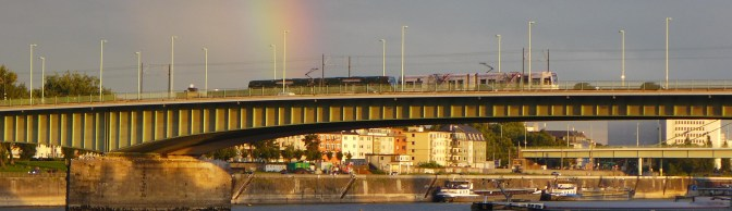 Rainbow over the Rhein—September 3, 2015