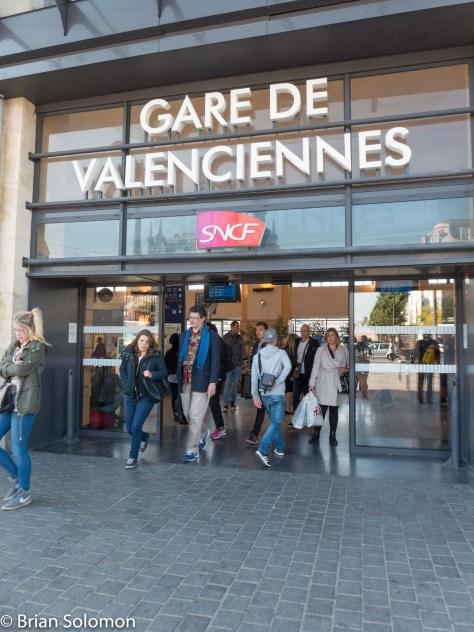 SNCF's Gare de Valenciennes. Lumix LX7 photo.