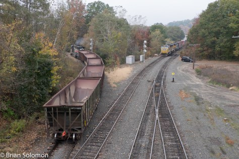 Which is more interesting, the old ballast train or symbol freight 14? You decide!