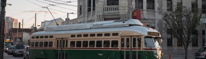 SEPTA's Number 15 Trolley—October 2015.
