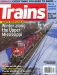 Cover of January 2016 TRAINS.