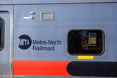 Metro-North Railroad logo.