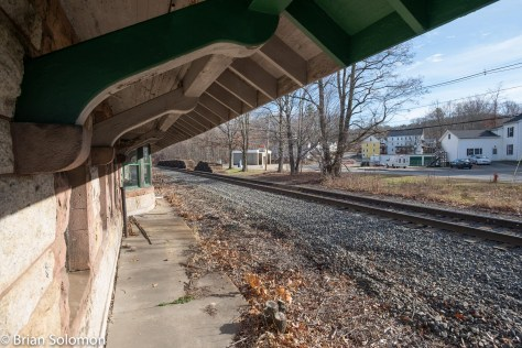 In the shadow of Warren station. Exposed digitally with a 12mm Zeiss Touit.