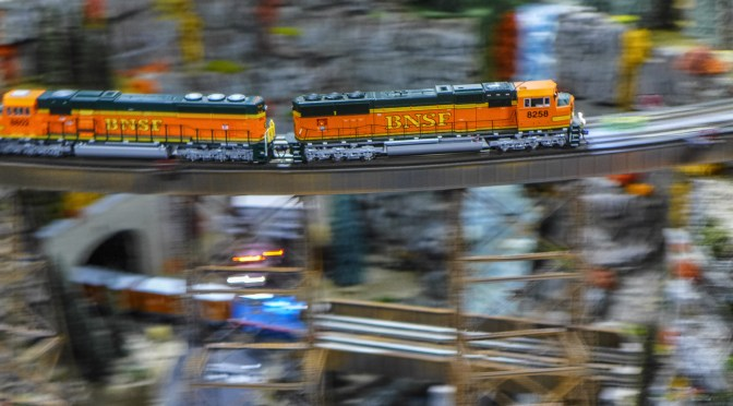 Dozens of NEW Photos—Big Train Show at West Springfield!