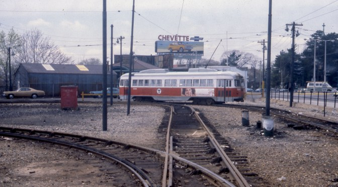 PCCs on MBTA's Mattapan-Ashmont Trolley—Looking Back.