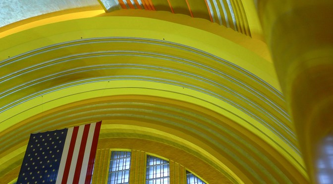 Art Deco Delight; Cincinnati Union Terminal