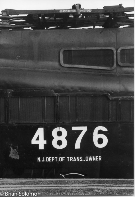 I exposed this detailed view with my Leica 3A at Rahway Junction in the locomotive's last year of service.