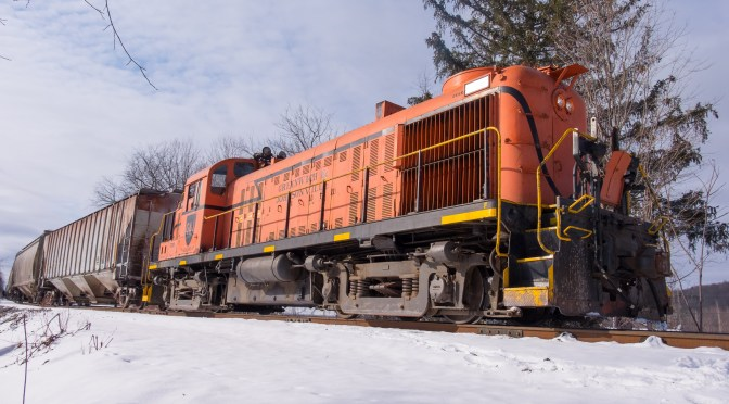 Unexpected Surprise: Stumbling on to one of New York's Rarest Railway Operations