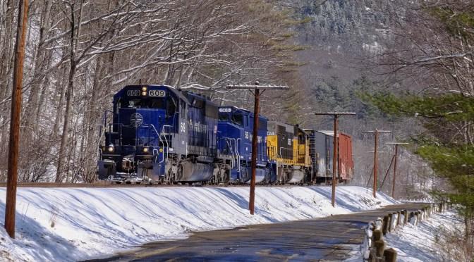 Brian's Blue Diesel Distraction: Pan Am Railways SD45.