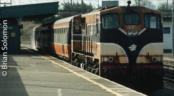 Irish Rail Looking Back; 071 class GM diesels in 2006.