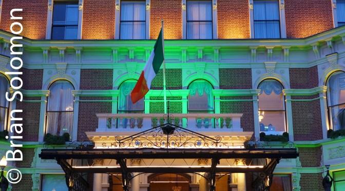 Happy St Patrick's Day from Dublin!