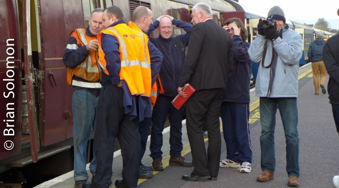 Portraits: Irish Railway Record Society's '071 class two-day 40th anniversary railtour'