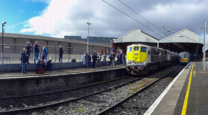 Tracking the Light Extra: Irish Railway Record Society Special at Connolly, 9 April 2016.