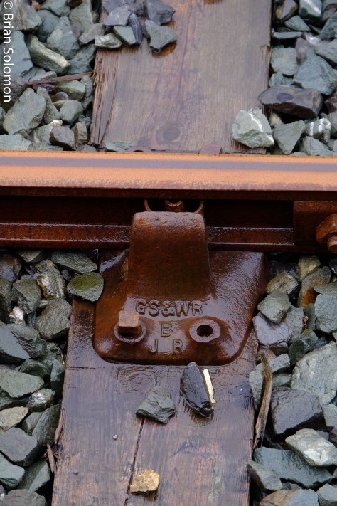 Great Southern & Western Railway chairs at Tralee.