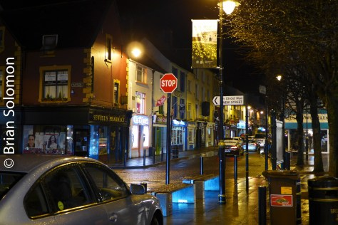 Killarney town is a popular tourist destination. I made this view on a wander after checking in to the hotel.