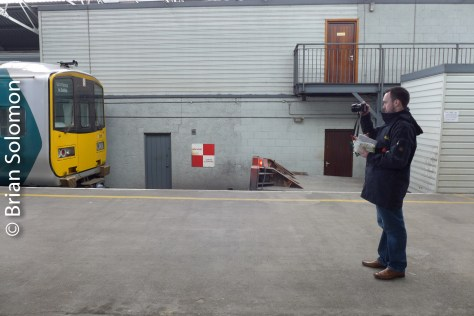 Sometimes the routine makes for an interesting photograph. Seen at Limerick.
