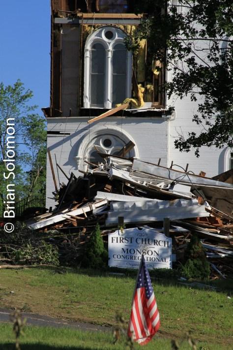 First Church, Monson on June 3, 2011.