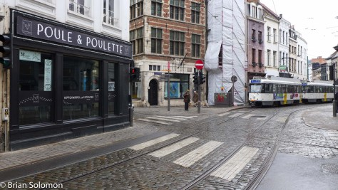 Antwerp enjoys a complex transport system with tram lines on many streets. However, expansion of the tram subway may soon reduce the number of surface services in some parts of the city center.