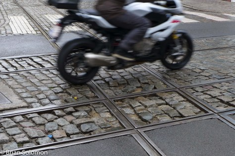 I don't think everyone was quite as enthusiastic about tram tracks and cobblestones as I was.