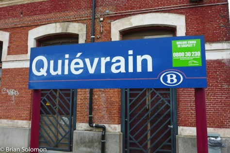 SNCB provides excellent signage at stations.