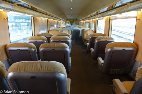 Old school comfort. Proper 1st class railway travel. Lumix LX7 photo.