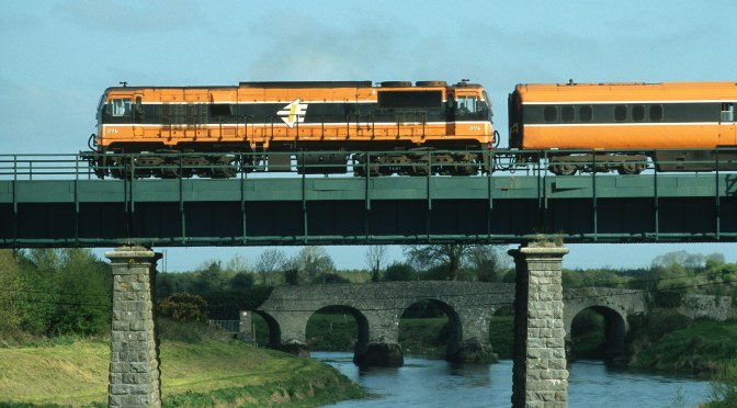Tracking the Light Extra: Irish Rail 076: Two Views Ten Years Apart.