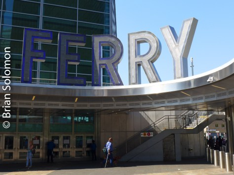 Staten Island Ferry terminal in the Battery.