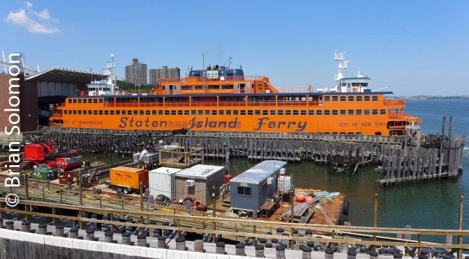 Staten Island Ferry—July 2016