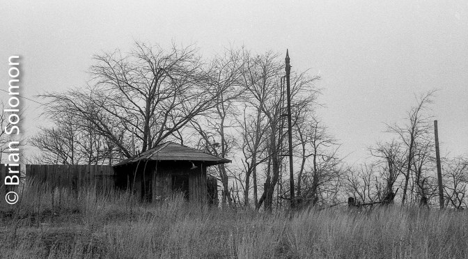 Ghostly Remains of a Cedar Hill Hump Yard—November 18, 1984; Four Photos.