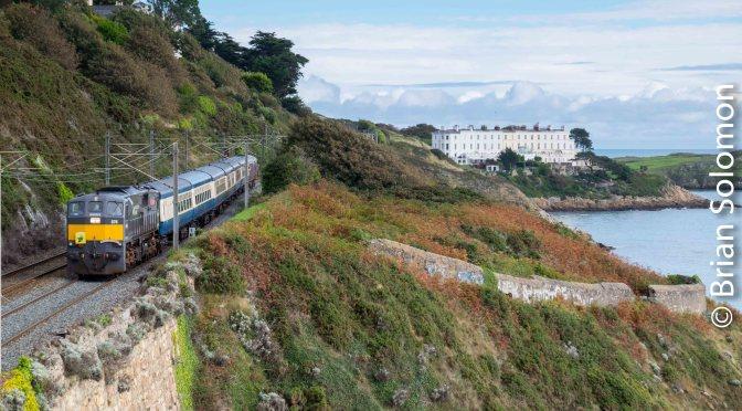 Emerald Isle Express near Killiney—26 September 2016.