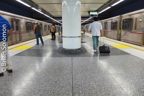Los Angeles subway as seen in August 2016.