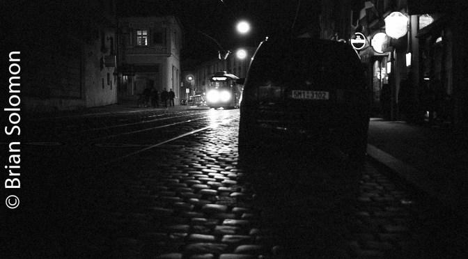 Tram Noir—Olomouc, October 2016.