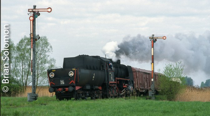 Tracking the Light Extra: Polish Steam in Freight Service-April 2002.