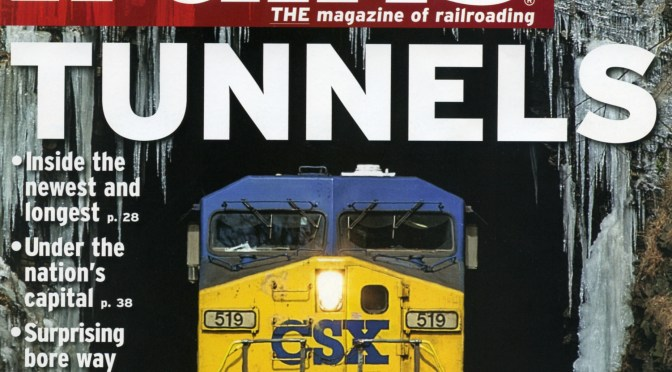 EXTRA: My Author's Advance Copy of February 2017 Trains Magazine Just Arrived.