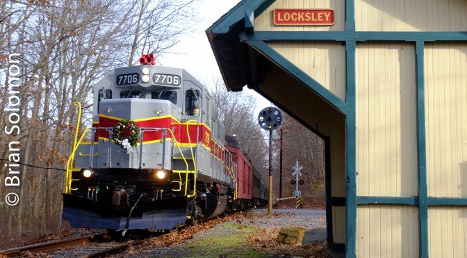 West Chester Railroad's Santa Train.