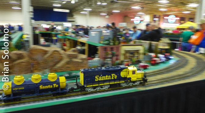 Tracking the Light Extra: Amherst Railway Society's Railroad Hobby Show at West Springfield—27 January 2017.